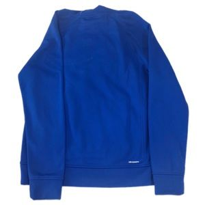 adidas Shirts & Tops - Adidas Blue Boys Hooded Pullover Sweater, Size L